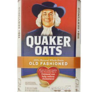 Quaker oats, old fashioned