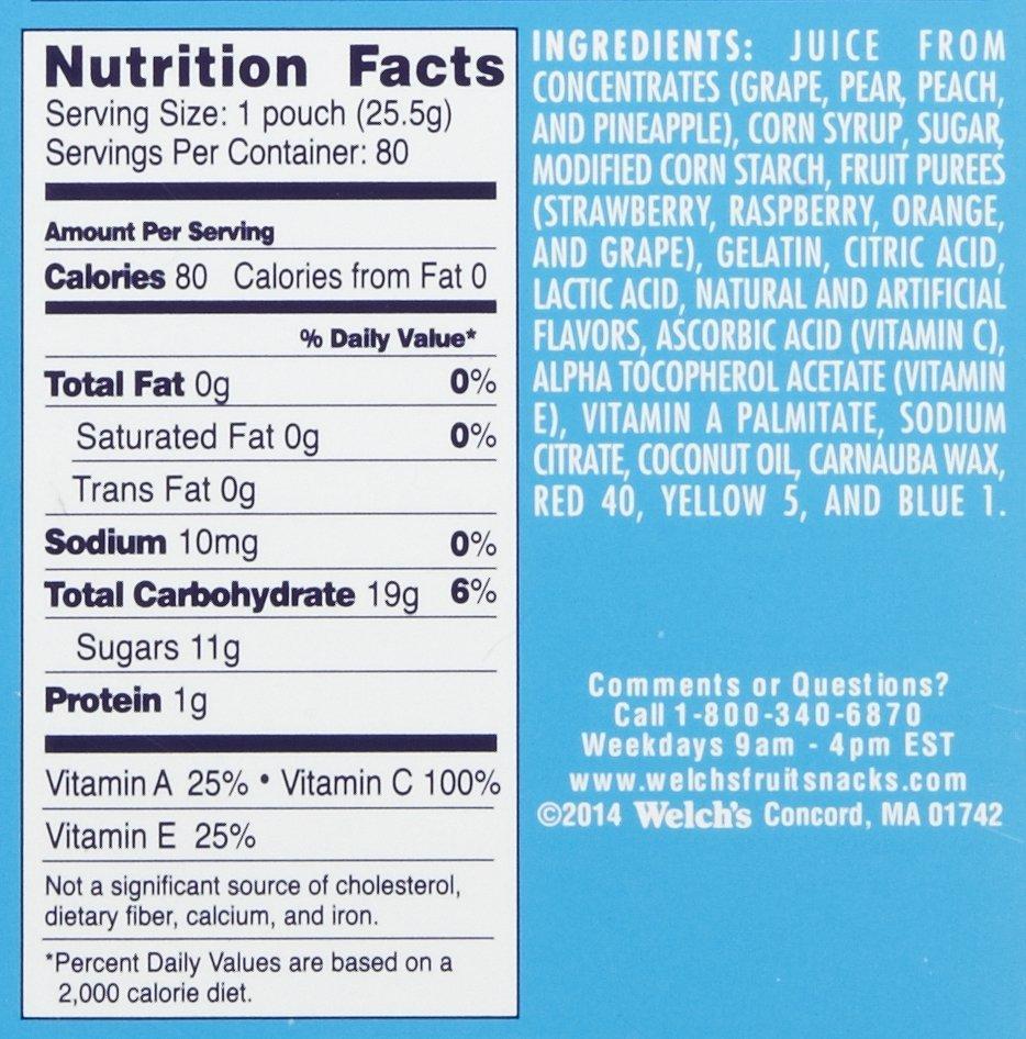 Welch S Mixed Fruit Snacks 80 Count Nortram Retail
