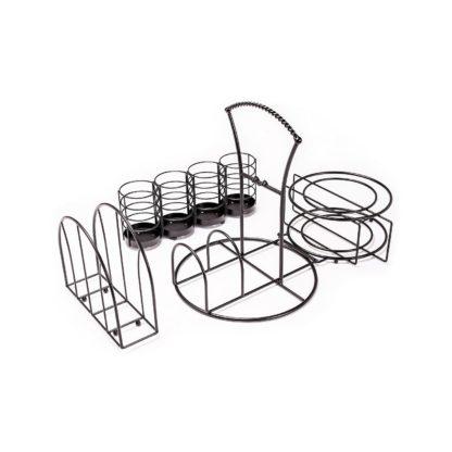 Giftburg Picnic Caddy, 3-Piece Set