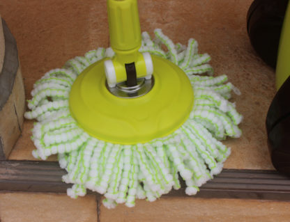 Spin Mop with Wheels