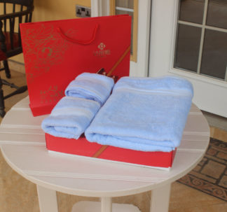3 set towels & Gift bag