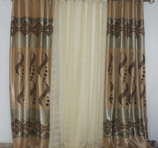 Ava 3 Set Window Curtains
