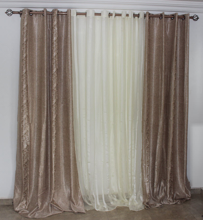 3 Set Window Curtains