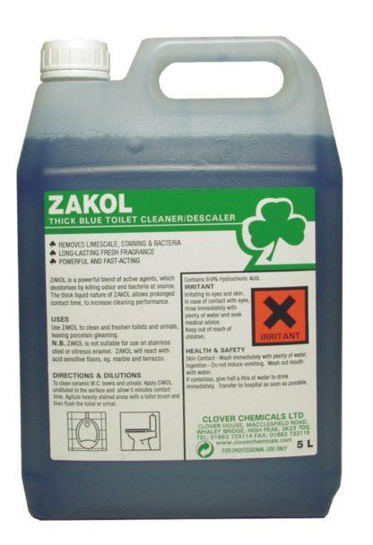 Clover Zakol - Acidic Toilet Cleaner/Descaler