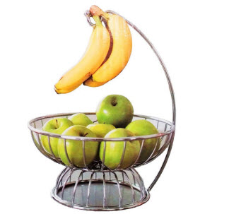 3 pc Banana Hook Fruit Basket