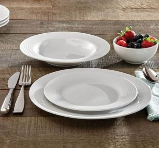 Berkley Jensen 16 pcs porcelain dinnerware set