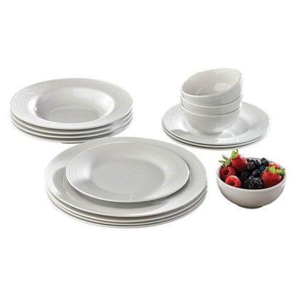 Berkley Jensen 16 pcs porcelain dinnerware set