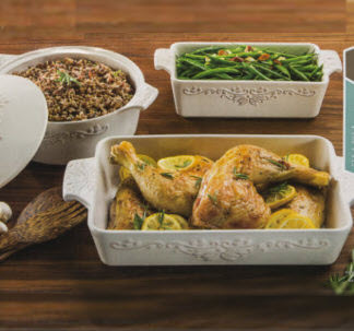 BerkleyJensen 4pc Bakeware set