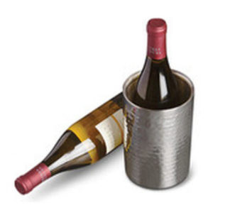 Crofton Wine Chiller Silver