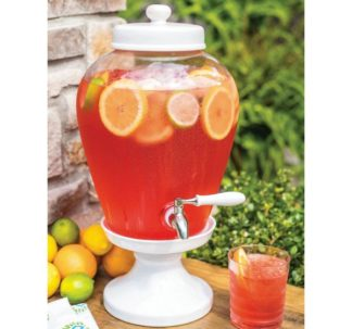 Glass Beverage Dispenser - 2.5 gallons
