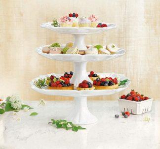 Member's Mark 3 pc Cake Plate set