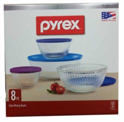 Pyrex Bowls - 8 pc
