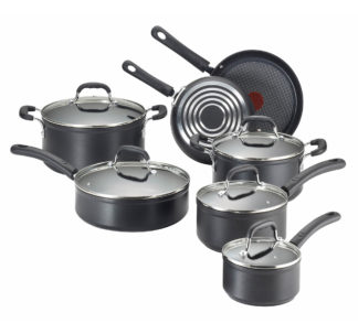 T-fal 12-pcs Non-stick Cookware Set