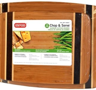 Dexas Bamboo Chopping Board - 2 pack