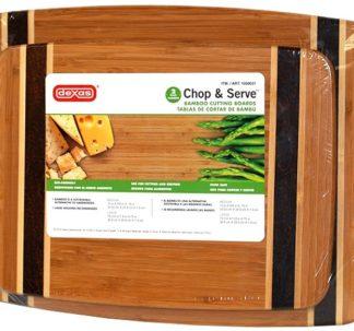 Dexas Bamboo Chopping Board - 2 pack