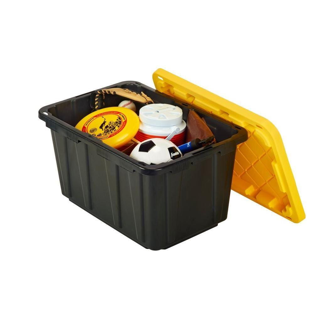 Commercial Grade Storage Container With Padlock Holes 27