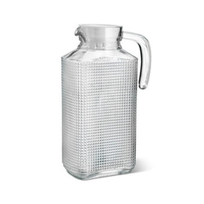 Crofton Glass Pitcher with Lid - 1.85 litres