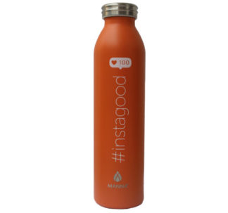 Manna Double Walled Vacuum Insulated Stainless Steel Water Bottle - 591 ml