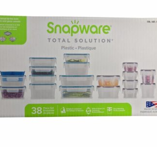 Snapware Plastic Food Storage Containers 38 Piece Set