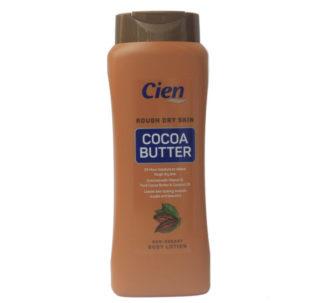 Cien Cocoa Butter Body Lotion , Non-Greasy - 500ml