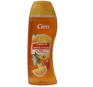 Cien Shower Gel, sweet orange with a fruity fresh fragrance -300ml