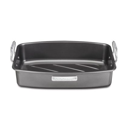 Cuisinart Ovenware 17-by-13-Inch Roaster with Removable Rack