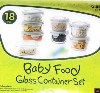 Glasslock Baby Food Glass Container Set - 18 pcs