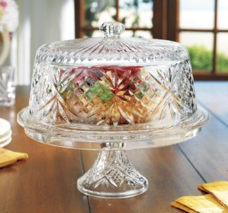 Shannon Crystal 4-in-1 Crystal Cake Dome