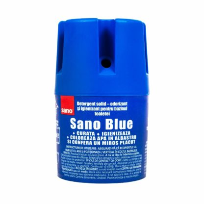Sano Blue Water Toilet Bowl Cleaner and Long Lasting Air Freshener