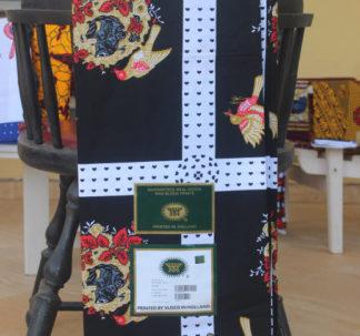 Guaranteed Real Dutch Wax Block Print