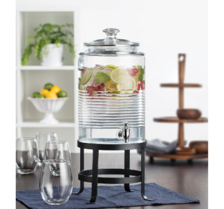 Berkley Jensen 2-Gal. Beverage Dispenser