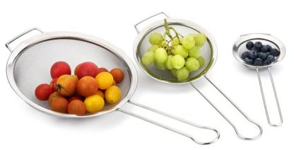 Crofton 3pc Strainer Set - Stainless Steel