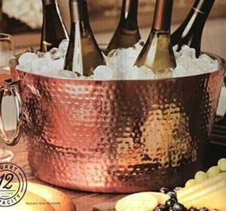 Member's Mark 11 Litres Double Walled Hammered Beverage Tub