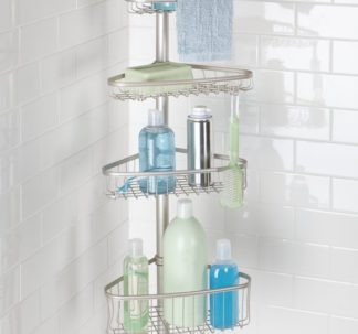Easy Home Shower Caddy with Pole