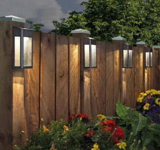Paradise Solar 4 LED Accent Lights 10 Lumens Cast-Aluminum Outdoor Decor⁣