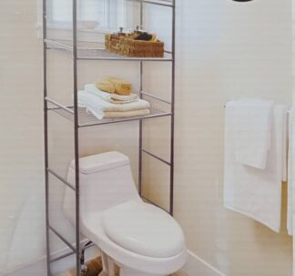 Easy Home Bathroom Space Saver Shelf