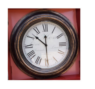 "Huntington Home 20"" Wall Clock - Rustic"
