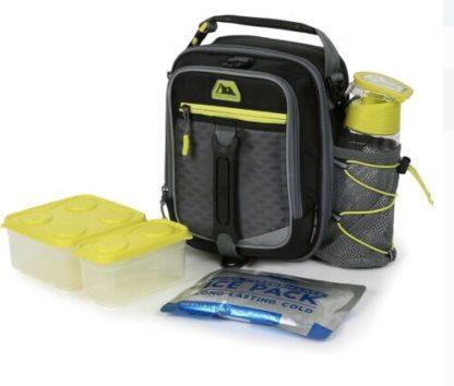 AZ Pro High Performance Dual Compartment Lunch Pack 8-Piece Set - Blue