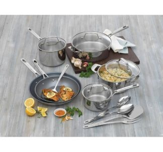 Emeril Lagasse 15-pcs Cookware set