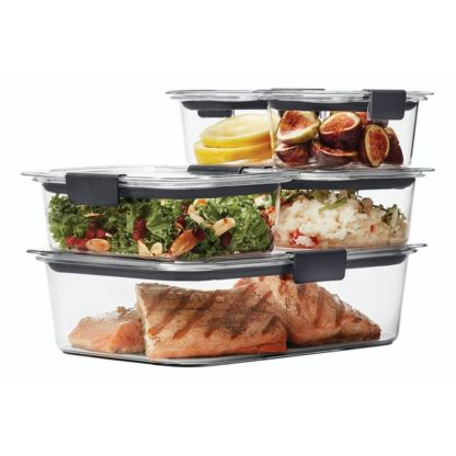 Rubbermaid Brilliance 10 pcs Leakproof Food Storage Containers