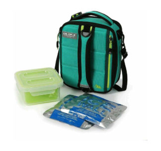 Expandable Lunch Pack Ultra Arctic Zone Plus 4 Containers with lids and 2 Ice Packs