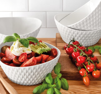 Over And Back 4-pcs Porcelain bowl set -Diamond