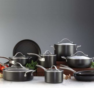 Kirkland Signature 15-piece Hard Anodized Cookware Set