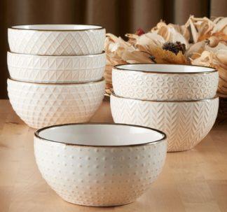 # Member's Mark 6 Texture Bowls