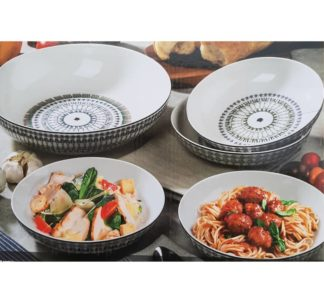 Signature 5 piece Stoneware Serving Bowls