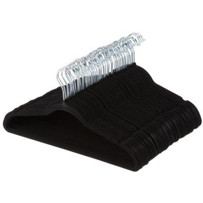 Berkley Jensen Anti-Slip Heavy Duty Velvet Hangers -35 Pack