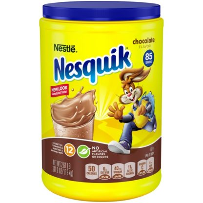 Nestle Nesquik Chocolate Flavored Milk Powder - 1.18kg