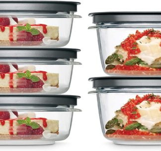 Rubbermaid Meal Prep Premier Food Storage Container, 10 Piece Set