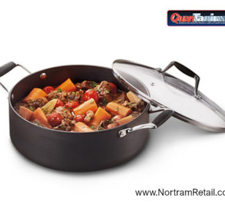 Crofton's Chef Collection Hard Anodized 4.3 L Dutch Oven