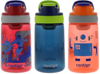 # Contigo Autoseal Gizmo Water Bottles, 414ml Kids